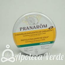 Aromagom Caramelos Emolientes Bio de Pranarom 45g