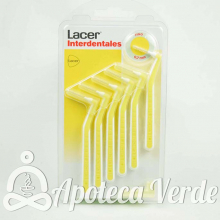 Lacer Cepillos Interdentales Angulares Naranja Extrafino Suave 0,5 mm 10 unidades