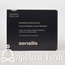 Ampollas Upgrade Chrono Lift de Sensilis 15 ampollas