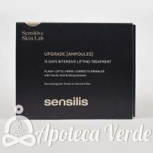 Ampollas Upgrade Chrono Lift de Sensilis 15 ampollas