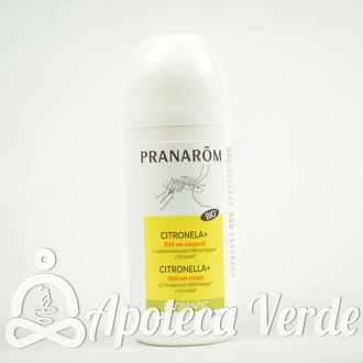 Leche Corporal Roll-on Anti-mosquitos Aromapic Bio de Pranarom 75ml