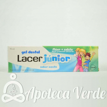 Gel Dental Lacer Junior Sabor Menta