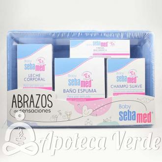 Sebamed Baby Set Abrazos de Sensaciones Azul