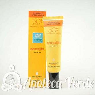 Sensilis Sun Secret Tratamiento Facial Antiedad Fluido SPF50