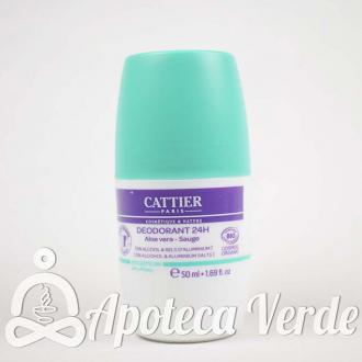 Cattier Desodorante Roll On 24H