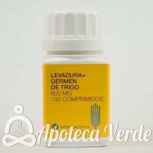 Botanicapharma Levadura Cerveza Germen Trigo 600 mg