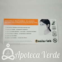 Mascarilla FFP2 Reutilizable
