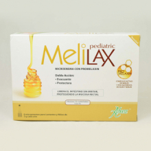 Melilax Pediatric de Aboca 6 microenemas