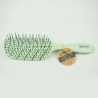 Cepillo Detangling Natural Fiber Beter Verde Suave