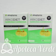 Arkodiet Garcinia Cambodgia de Arkopharma 2x45 cápsulas