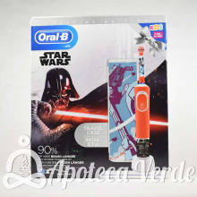 Oral-B Pack Cepillo Electrico Infantil Estuche Star Wars