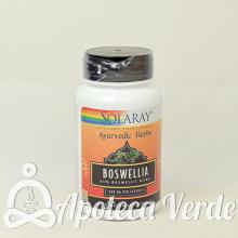Boswellia 60 cáspulas de Solaray