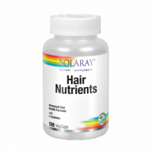 Solaray Hair Nutrients 120 cap