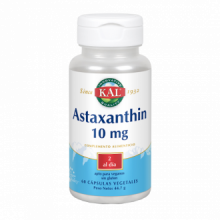 Solaray Astaxantina 10Mg 60 cap