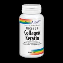 Solaray Collagen Keratin 60 comp