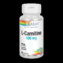Solaray L-Carnitine 500Mg 30 cap