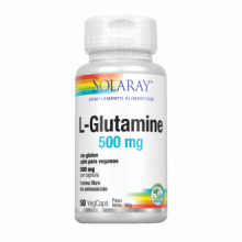 Solaray L-Glutamine 500Mg 50 cap