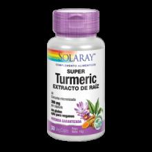 Solaray Super Turmeric Curcuma 30 cap