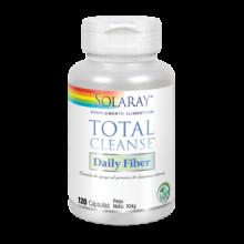 Solaray Total Cleanse Daily Fiber 120 cap