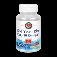 KAL Red Yeast Rice CoQ10 Omega 3 60 perlas