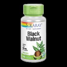 Solaray Black Walnut Hull Nogal Negro 100 cap