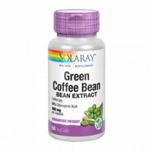 Solaray Green Coffee Cafe Verde Extract 400Mg 60 cap