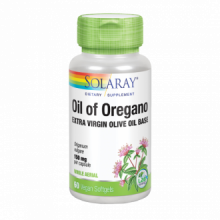 Solaray Oil Oregan Aceite de Orégano 150Mg 60 perlas