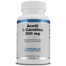 Douglas Laboratories Acetil L-Carnitina 500 Mg 60 Cap