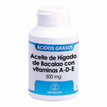 Equisalud Aceite Higado de Bacalao Vitaminas A D E 180 cap