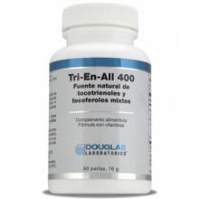 Douglas Laboratories Tri-En-All 400UI Vitamina E 60 Perlas