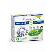 Esential Aroms Phytorespir Frasco 30ml 4 Sticks Inhaladores