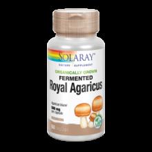 Solaray Fermented Royal Agaricus Champiñon de Sol 500Mg 60 cap