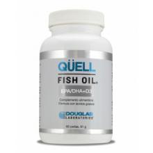 Douglas Laboratories Quell Fish Oil Epa DHA Vitamina D3 60 Perlas