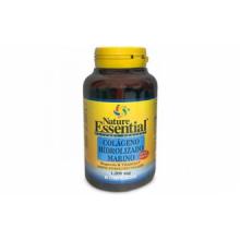 Nature Essential Colageno Marino Hidrolizado Magnesio 1200Mg 90 Comp