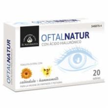El Naturalista Oftalnatur 15 Toallitas Oculares