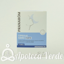 Pranarom Aromanoctis Cápsulas Sueño Forte Bio
