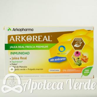 ArkoReal Jalea Real Fresca Vitamina Light 1000 mg Arkopharma 20 ampollas