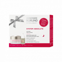 Annemarie Borlind Pack System Absolue Crema Noche Nutritiva + Fluido Belleza