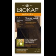 Biokap Tinte Nutricolor Castaño Dorado Claro 5.3 140Ml