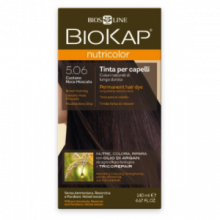 Biokap Tinte Nutricolor Castaño Nuez Moscada 5.06 140Ml