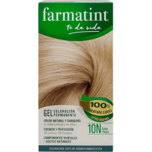 Farmatint Gel Coloración permanente 10N Rubio Platino 135ml
