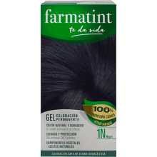 Farmatint Gel Coloración permanente 1N Negro 135ml