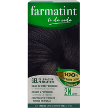 Farmatint Gel Coloración permanente 2N Moreno 135ml