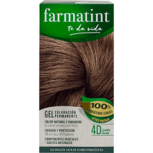 Farmatint Gel Coloración permanente 4D Castaño Dorado 135ml
