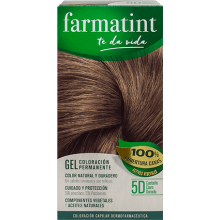 Farmatint Gel Coloración permanente 5D Castaño Claro Dorado 135ml