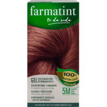Farmatint Gel Coloración permanente 5M Castaño Claro Caoba 135ml