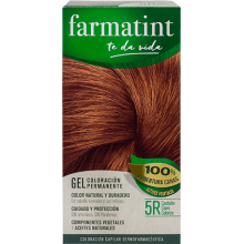 Farmatint Gel Coloración permanente 5R Castaño Claro Cobrizo 135ml