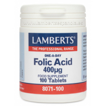 Lamberts Acido Folico 400 Mcg 100 cap