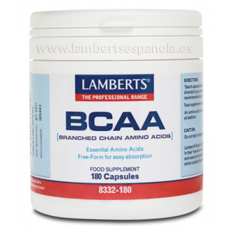 Lamberts BCAA Aminoacidos Ramificados 180 cap