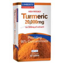 Lamberts Curcuma 20.000Mg 60 comp
